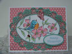 Nellies Nest: Little Bluebird