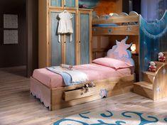 Casa, Arredamento E Bricolage Arredamento Struttura Letto Singolo Cameretta Bimbo Faggio E Blu Fragrant Aroma