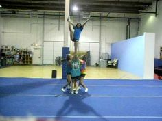 Cheer Extreme Senior Elite Stunt Sequence 2010