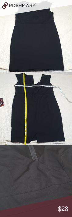 TORRID sheath black sleeveless dress size 20 TORRID sheath black sleeveless dress size 20 Zipper in back of dress With small belt hoops on sides torrid Dresses