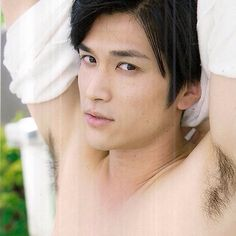 I love his hair... Cr: HAMAO KOREA