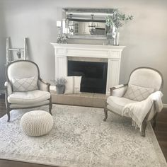 Anew Gray SW 7030 living room.