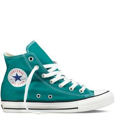 Turquoise Chucks March 2017