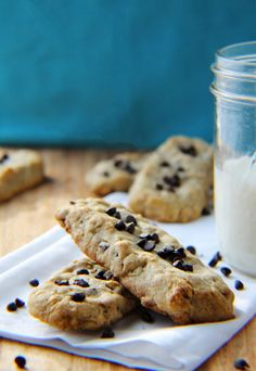 #Dessert / Whole Grain Chocolate Chip Cookie Dunkers