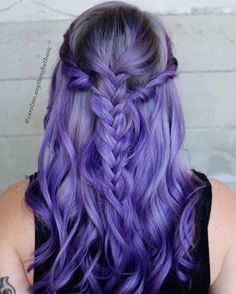 Smokey Lilac #btconeshot_color16 #btconeshot_creativecolor16 #btconeshot_rainbow16 #btconeshot_braids16 #btconeshot_curls16