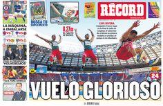 Las mejores portadas del 2013: El 17 de agosto dedicamos la portada a Luis Rivera y su salto de Bronce