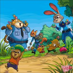 Colouring Pics, Disney Coloring Pages, New Groove, Cartoon Pics, Happy Colors, Disney Pictures, Colorful Pictures, 2 Colours, Bunny