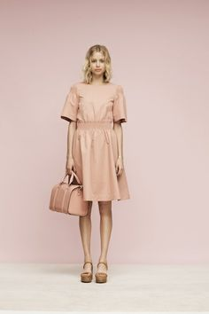 Dissecting the Awesomeness of Kate Spade Saturday's Pre-Fall 2014 Collection Fashion News, High Fashion, Womens Fashion, Kate Spade Saturday, Blush Dresses, Ready To Wear, Fashion Photography, Dress Up, Street Style