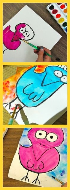 James Rizzi Birds Art Lesson