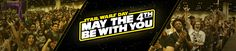 """Happy STAR WARS DAY? """"May the 4th be with you."""" What started as pun warmly shared by fans has become a full-fledged Star Wars holiday: Star Wars Day, a special once-a-year celebration of the galaxy far, far away. One of the earliest known records of """"May the 4th"""" used in popular culture is in 1979, as described here by author Alan Arnold while he was chronicling the making of The Empire Strikes Back for Lucasfilm: FRIDAY, MAY 4 """"Margaret Thatcher has won the election and become Britain's…"""