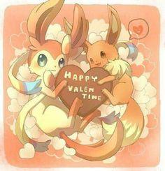 Love your Pokemon Pokemon Pins, Pokemon Fan Art, Cute Pokemon, Pokemon Go, Umbreon And Espeon, Pokemon Eeveelutions, Eevee Evolutions, Valentines Anime, Pokemon Stadium