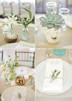 Green Wedding Decor on COUTUREcolorado