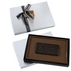 Your sense of good taste is evident in this molded chocolate gift!