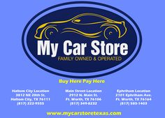 My Car Store Buy Here Pay Here Customer Review  I HAVE HAD A GREAT EXPERIENCE AT MY CAR STORE.  THE SALES REP VALERIE HAS BEEN GREAT HELP TO MY HUSBAND AND I!!!!!  BRENDA, http://deliverymaxx.com/DealerReviews.aspx?DealerCode=YOGM&ReviewId=47917  #Review #DeliveryMAXX #MyCarStoreBuyHerePayHere