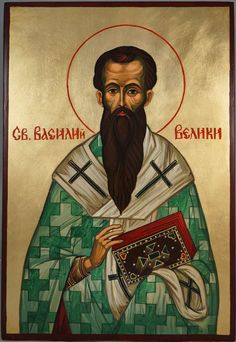 High quality hand-painted Orthodox icon of St Basil the Great Large. BlessedMart offers Religious icons in old Byzantine, Greek, Russian and Catholic style. Old Greek, Paint Icon, St Basil's, Byzantine Icons, Russian Fashion, Orthodox Icons, Beautiful Hands, Christianity, Catholic
