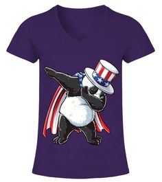 6730662cb Dabbing Uncle Sam Panda T shirt 4th Of July Kids Boys Men USA