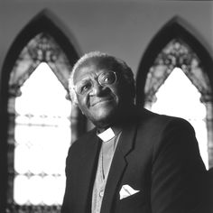 Desmond Tutu - he spoke at the Convocation when I received my Master's Degree.