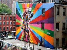 Eduardo Kobra mural, Chelsea NYC