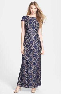 Eliza J Long Crochet Dress available at #Nordstrom