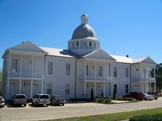 Chautauqua Hall in DeFuniak Springs, Florida built in 1909