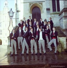 Prince William and Eddie Redmayne - Eton class of 2000.