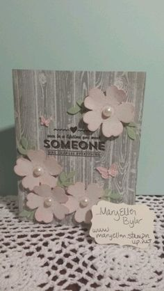 Stampin' Up!, flower shop, occasions mini Hardwood stamp, Sale-A-Bration See Ya later,