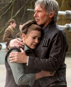 fysw: Leia and Han - Star Wars: The Force Awakens.