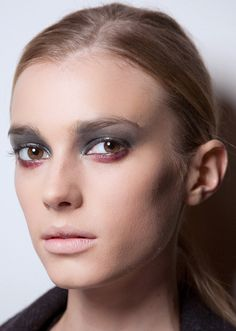 13 Goth Makeup Ideas to steal from backstage Fashion Week 2016 | Beauty looks