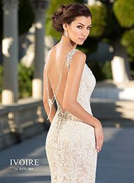 Wedding Dresses | Bridal Gowns | 2016 IVOIRE NEW YORK - Makayla #ivoirebykittychen