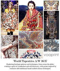 AW 16/17: Vootrend - World Tapestries