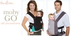 The Moby GO is a great baby carrier option for larger babies - super comfy for baby and mom/dad!