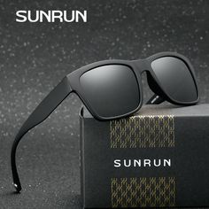 SUNRUN Classic Luxury Squared Men Polarized Sunglasses Brand Wrap Around TR90 Frame Multiple Color Eyewear Oculos Gafas PM8005 man neck * AliExpress Affiliate's buyable pin. Find similar products on www.aliexpress.com by clicking the VISIT button