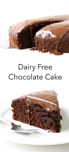 Dairy Free Chocolate Cake is AMAZING! No one knew it was dairy free! So eas… This Dairy Free Chocolate Cake is AMAZING! No one knew it was dairy free! - This Dairy Free Chocolate Cake is AMAZING! No one knew it was dairy free! Dairy Free Chocolate Cake, Chocolate Ganache, Chocolate Desserts, Chocolate Cupcakes, Easy Chocolate Cake Recipe, Dairy Free Ganache, No Dairy Recipes, Easy Cake Recipes, Dessert Recipes