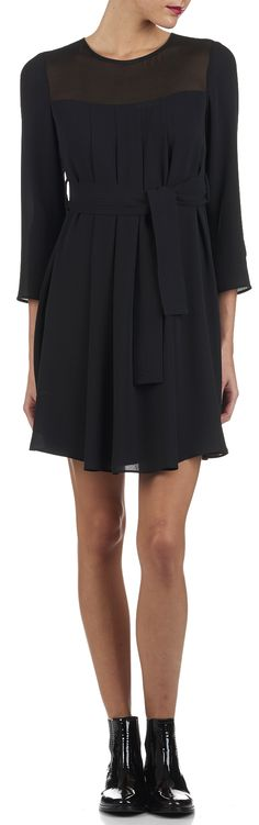 Robe Reinette Noir by CLAUDIE PIERLOT