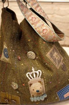 Bag by Alice * Jody,if you see this, here's an idea for you. what cha think? doable