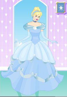 Cinderella Dress Up, Princesas Disney, Ball Gowns, Mickey Mouse, Disney Princess, Rose, Dresses, Cinderella, Ballroom Gowns