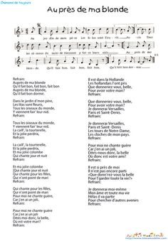 French Song For Kids Mon Potit Oiseaux