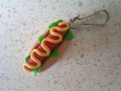 Hot Dog en fimo