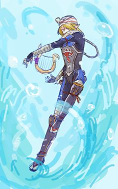 Hyrule Warriors. Sheik is awesome in that game!