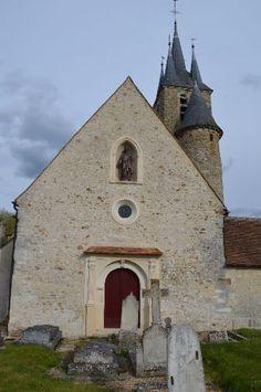 Eglise Saint-Georges te Richebourg (Yvelines 78)