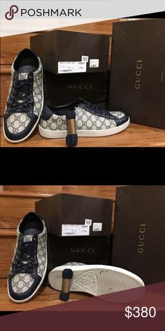 a39058a1bba5b Shop Men s Gucci size 11 Sneakers at a discounted price at Poshmark.