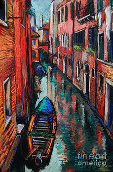 The Colors Of Venice by Mona Edulesco