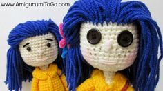 Amigurumi Freely To Go : 1000+ ideas about Coraline Doll on Pinterest Coraline ...