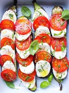Caprese Recipes that Go Way Beyond Salad