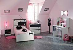 Jugendzimmer Maya II - 4tlg. #Möbel #weiß #Schlafzimmer #Schrank #Bett #Kommode