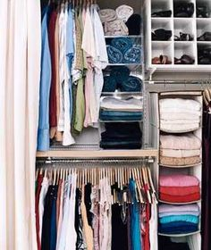 Capitalize on Every Inch | Closets can be the bane of your existence. Steal some ideas from those pictured here.