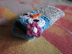Virkkausta ja värkkäystä: Virkattu kännykkäkotelo - Crochet Mobile Pouche