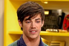 The guest mentor for Theatricality: Grant Gustin! #TheGleeProject