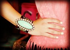 Colorado Luxe On Tooled Aztec Leather - Sookie Sookie, LLC