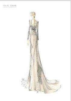 pinterest elie saab fashion illustration - Google-haku